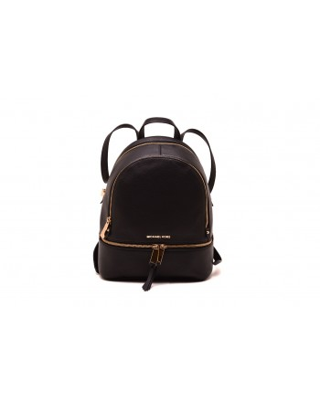 MICHAEL by MICHAEL KORS - RHEA Leather Backpack - Black