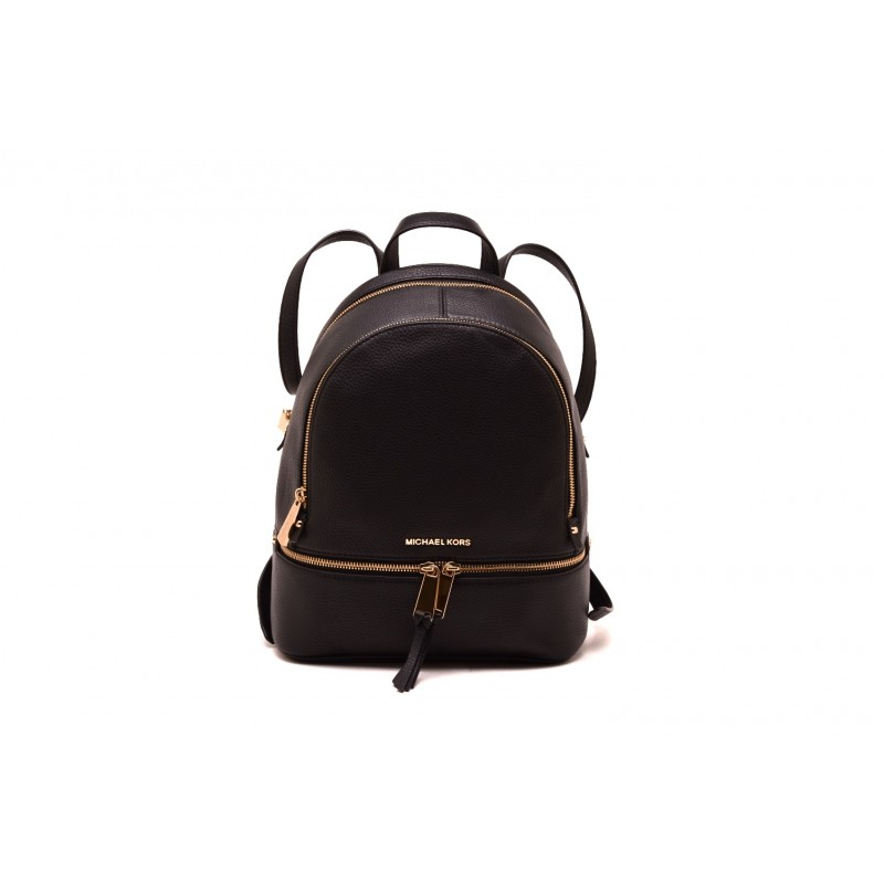 895bc417f9 MICHAEL by MICHAEL KORS RHEA Leather Backpack Black [Woman] Elsa Boutique