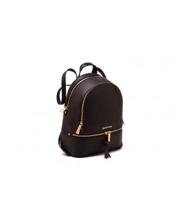 MICHAEL by MICHAEL KORS - RHEA Leather Backpack - Black