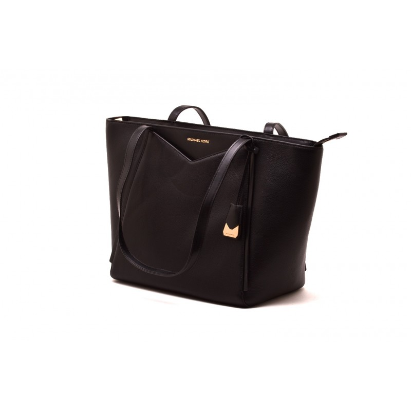 MICHAEL BY MICHAEL KORS - Borsa WHITNEY in pelle - Nero