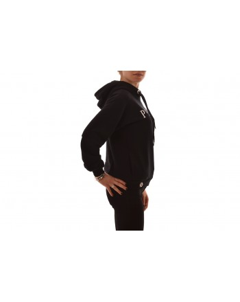 PHILIPP PLEIN - Hooded cotton sweatshirt - Black
