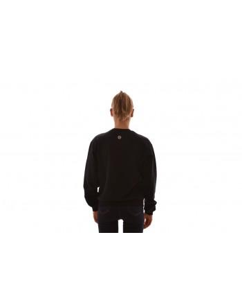 PHILIPP PLEIN - Felpa in cotone con stampa - Nero