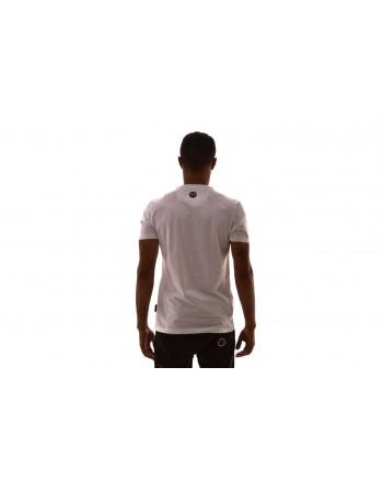 PHILIPP PLEIN - T-Shirt in cotone con stampa - Bianco