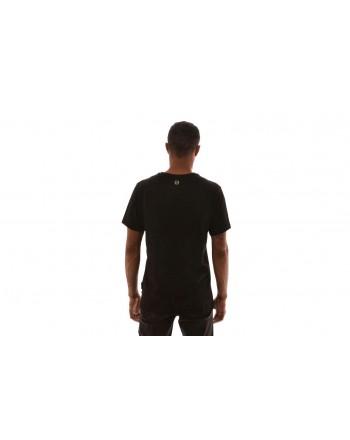 PHILIPP PLEIN - Cotton T-Shirt with print  - Black