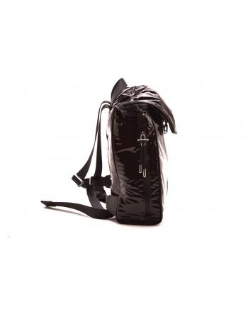 CALVIN KLEIN - Eco-leather backpack - Black