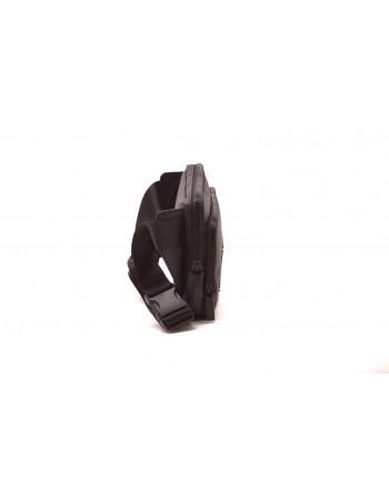 CALVIN KLEIN - Tech Fabric Logo Flat Bag - Black