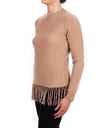 MAX MARA - TECNICO jersey in wool and camel yarn - Camel