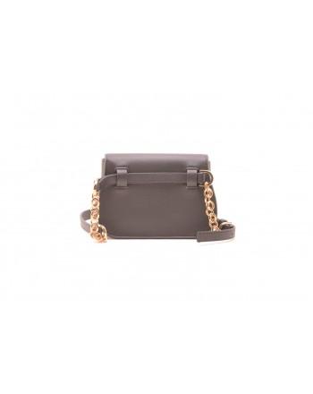 CALVIN KLEIN - Leather pouch - Black