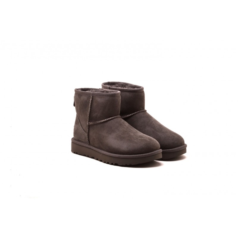 UGG - MINI Boots in sheepskin and suede - Grey