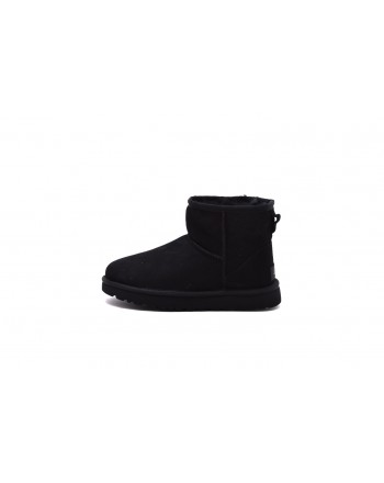 UGG - MINI Boots in sheepskin and suede - Black