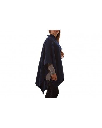 WEEKEND MAX MARA - Mantella DODO in Alpaca - Blu notte