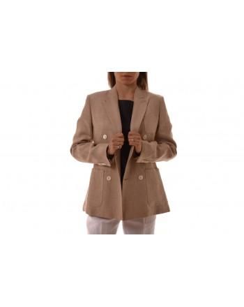 Max Mara - EGLADI jacket in linen - Beige