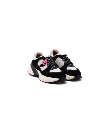 PINKO Sneakers ROCK - Beige/Nero