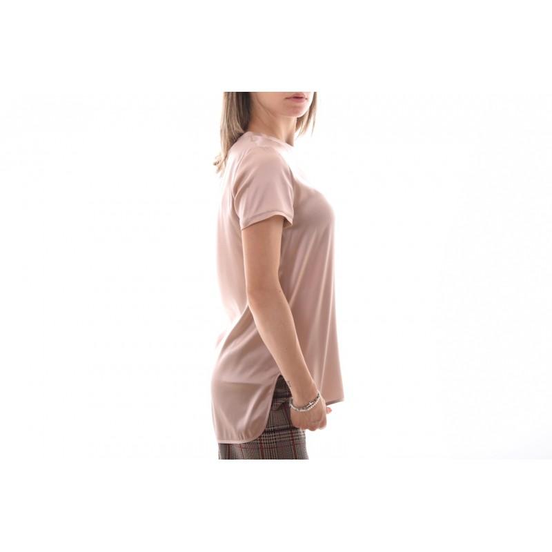 PINKO Blusa Satin Stretch TIRARE rosa