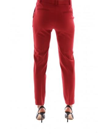 PINKO Pantalone Punto Stoffa BELLO rosso