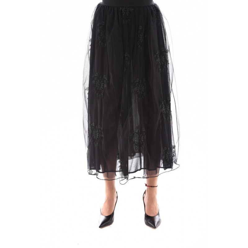 PINKO - Gonna Tulle MARITARE - Nero