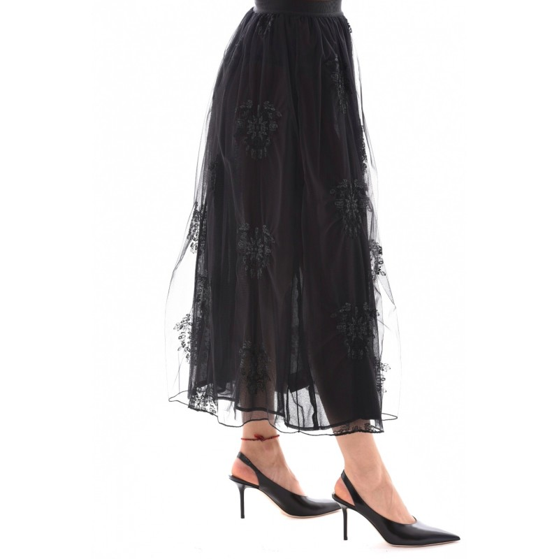 PINKO - Tulle skirt MARITARE - Black