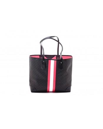 MICHAEL by MICHAEL KORS - Shopping Bag EVA - Black/Neon Pink