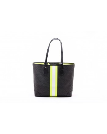 MICHAEL by MICHAEL KORS - Shopping Bag EVA - Black/Neon Yellow