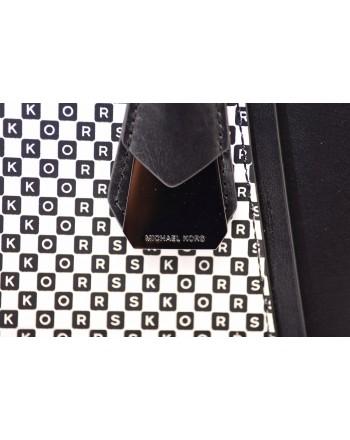 MICHAEL by MICHAEL KORS - JADE Bag with Micro Logo  - Black