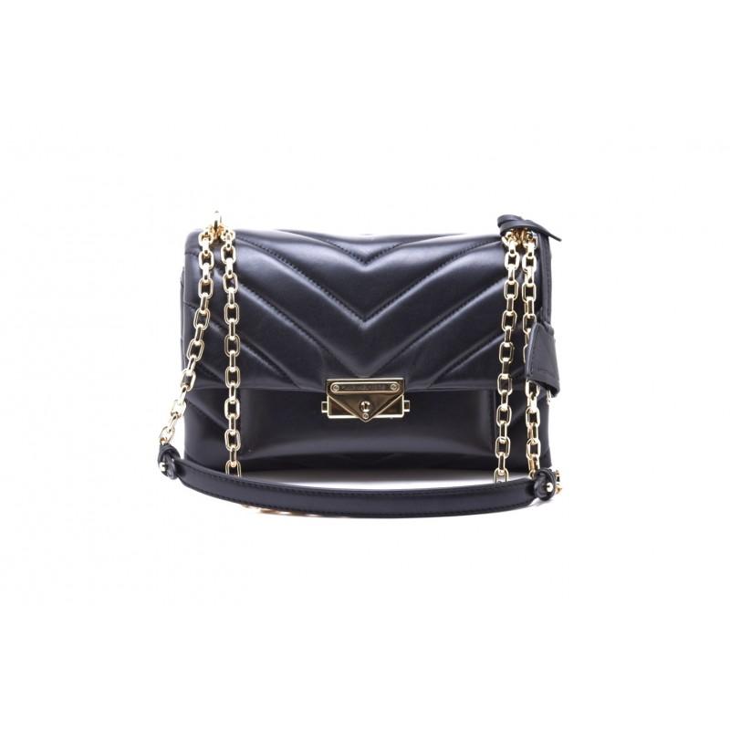 MICHAEL by MICHAEL KORS - CECE CHAIN Bag with Golden Details - Black