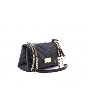 MICHAEL by MICHAEL KORS - Borsa CECE  CHAIN Medium Dettagli Oro  - Nero