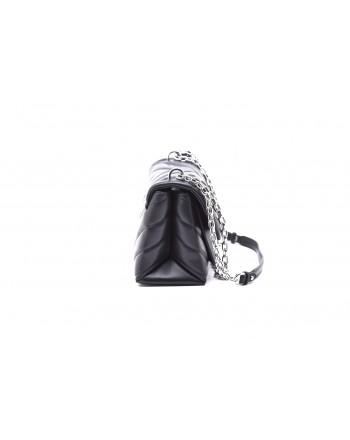 MICHAEL by MICHAEL KORS - Medium CECE Bag with Silver Details - Black