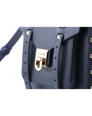MICHAEL by MICHAEL KORS - MANHATTAN Bag with Golden Details - Black