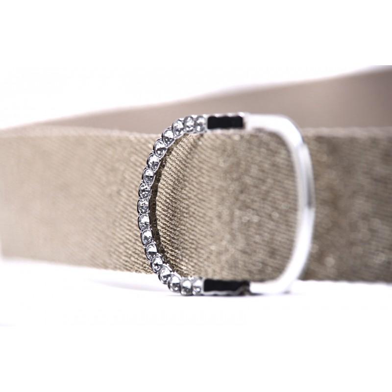 PINK - FOREST belt in lurex - Gold