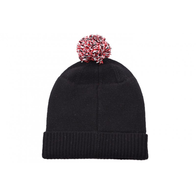 POLO RALPH LAUREN -  Cappello in lana con ricamo - Nero