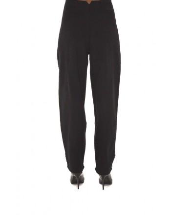 PHILOSOPHY di LORENZO SERAFINI - Paillettes Trousers - Black