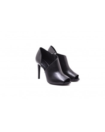 MICHAEL By MICHAEL KORS - Stivaletto ELODIE aperto in pelle - Nero