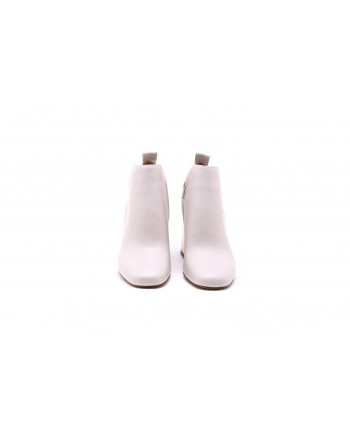 MICHAEL By MICHAEL KORS - Stivaletto DIXON in pelle - Bianco