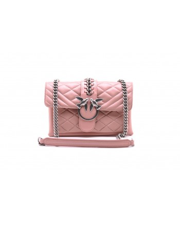 PINKO - MINI LOVE SOFT MIX CHAIN BAG Light Pink