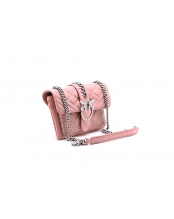 PINKO - BORSA LOVE MIX CATENA - Light Pink