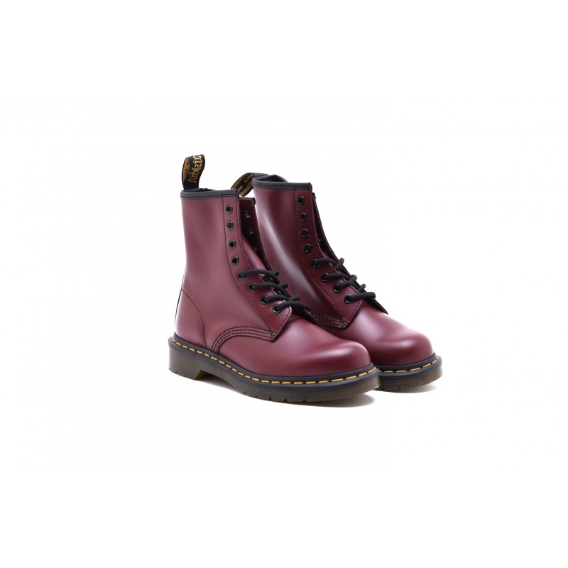 DR.MARTENS - Stivaletto 1460 SMOOTH - Cherry Red