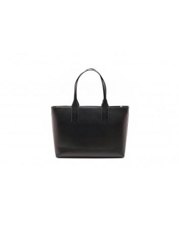 EMPORIO ARMANI - Shopper with charm and logo - Black