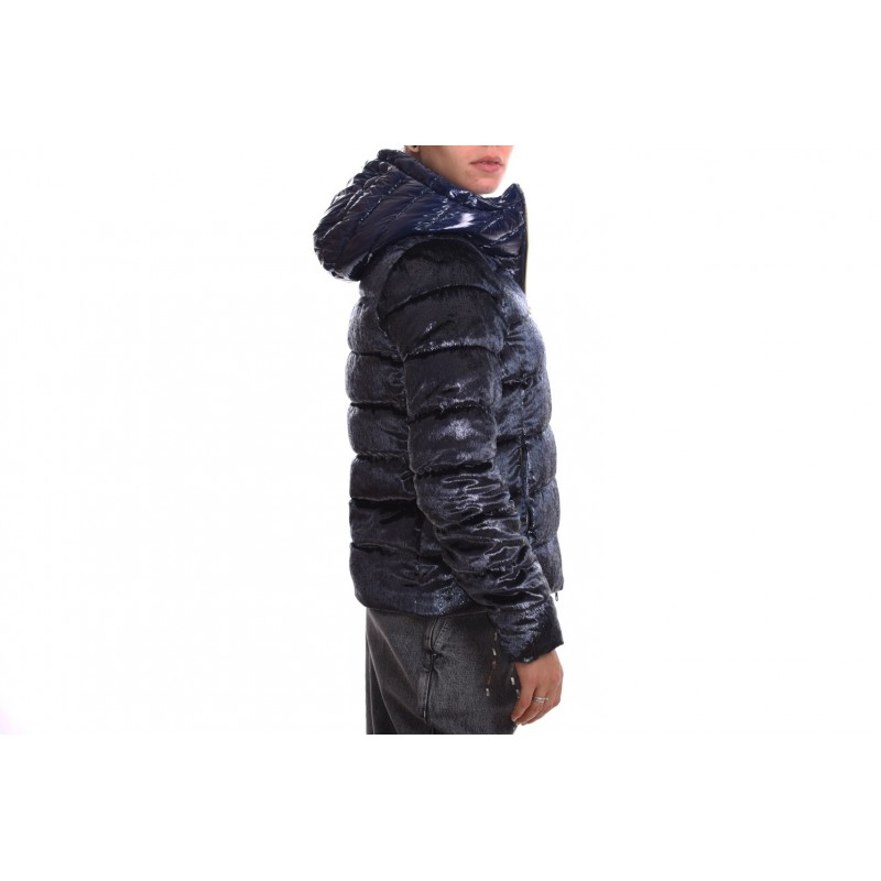INVICTA - Giubbino con cappuccio - Blu chiaro/Nero