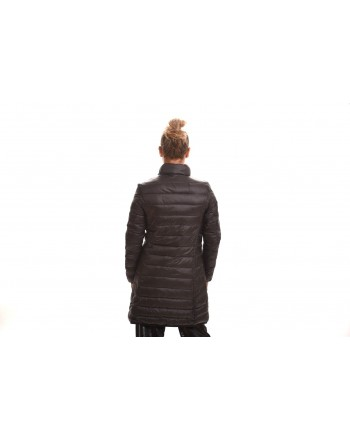 LOVE MOSCHINO - Reversible Nylon coat - Black