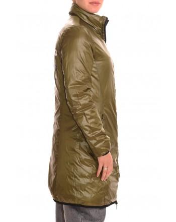 LOVE MOSCHINO - Reversible Nylon coat - Bluette