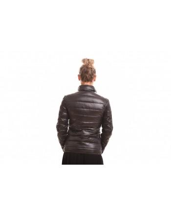 LOVE MOSCHINO - Reversable jacket in nylon - Black