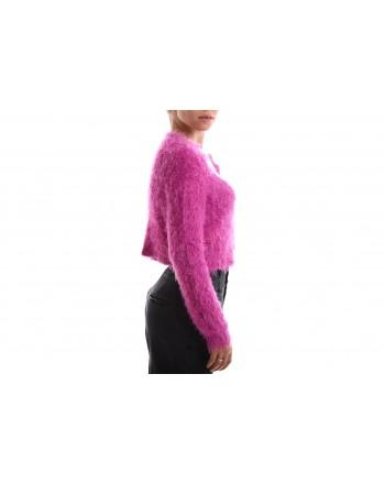 PINKO - Cardigan Knit UCRAINO - Fuchsia
