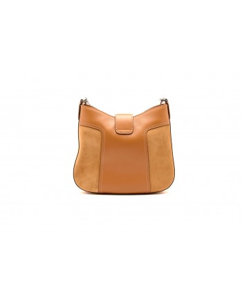 TOD'S - Leather Hobo Bag - Light Mustard