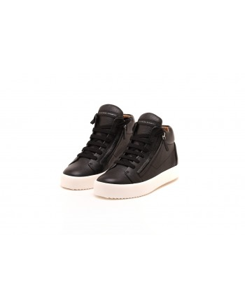 GIUSEPPE ZANOTTI -  Justy Sneakers in leather - Black