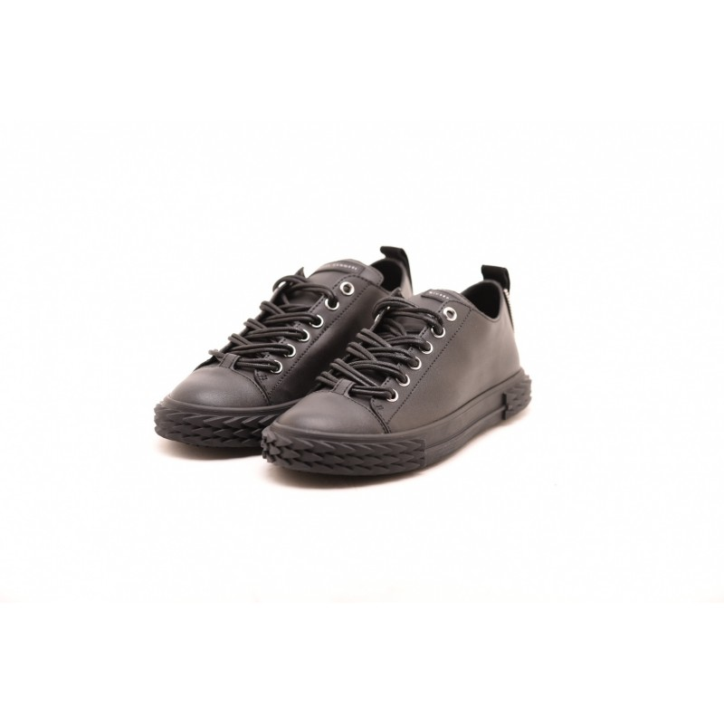 GIUSEPPE ZANOTTI - BLABBER sneakers in leather - Black