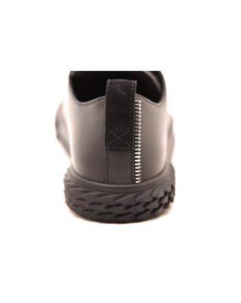 GIUSEPPE ZANOTTI - Sneakers BLABBER in pelle - Nero