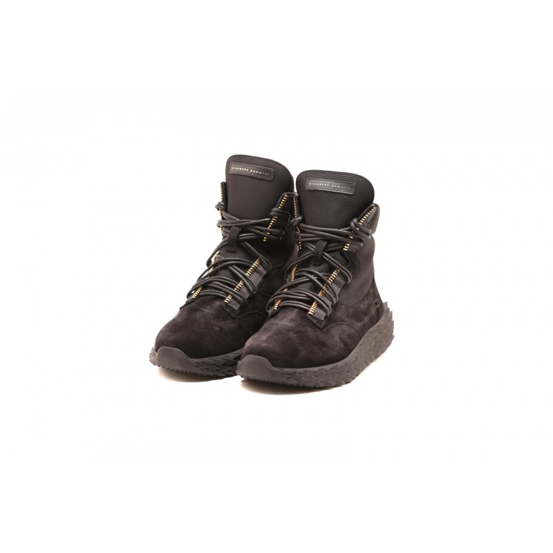 GIUSEPPE ZANOTTI - Sneakers URCHIN in pelle - Nero
