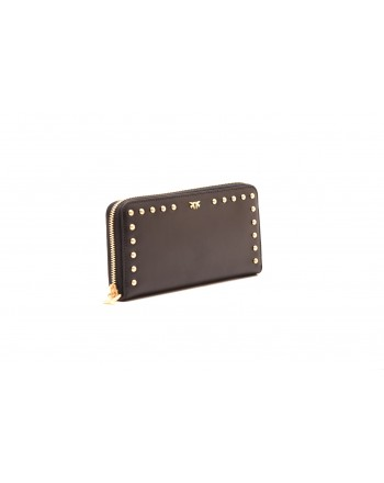PINKO - AUSTIN leather wallet - Black
