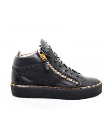 GIUSEPPE ZANOTTI - Sneaker in pelle - Nero