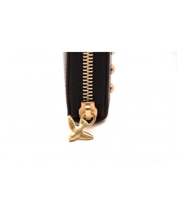 PINKO - AUSTIN leather wallet - Black
